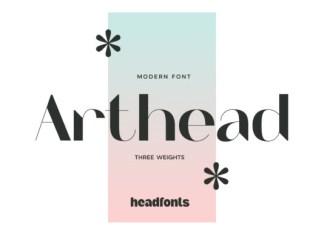 Arthead Font