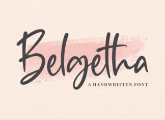 Belgetha Font