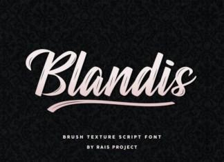Blandis Font