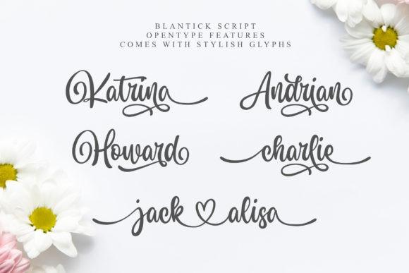Blantick Font