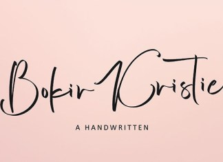 Bokir Kristie Font