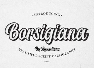Borsigiana Font