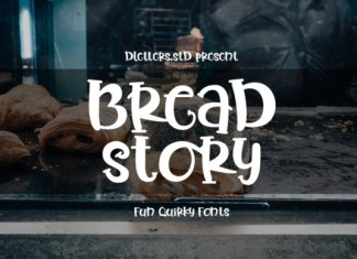 Bread Story Font