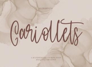 Cariollets Font