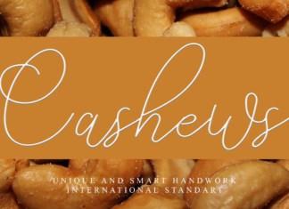 Cashews Font