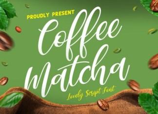 Coffee Matcha Font