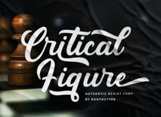 Critical Figure Font