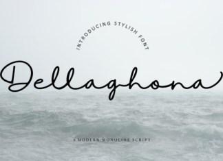 Dellaghona Font