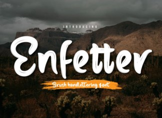 Enfetter Font