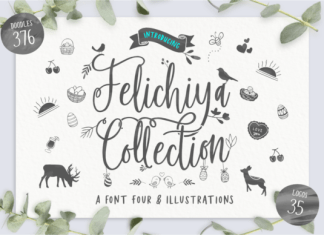Felichiya Collection Font