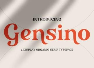 Gensino Font