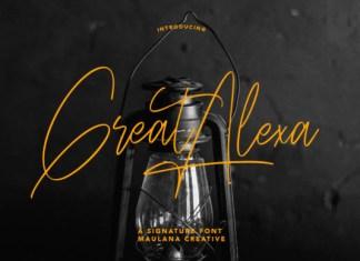 Great Alexa Font