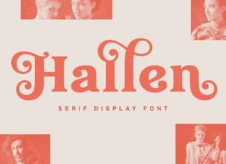 Hallen Font