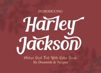 Harley Jackson Font