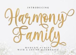 Harmony Family Font