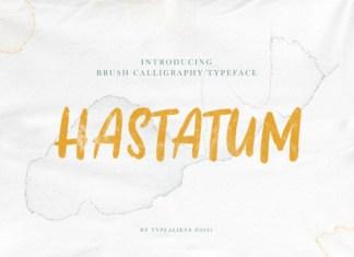 Hastatum Font