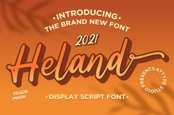 Heland Font