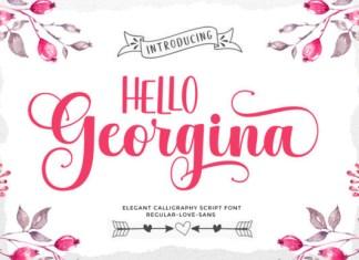Hello Georgina Font
