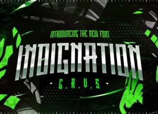 Indignation Font