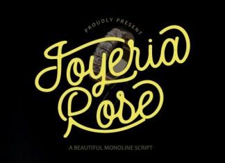 Joyeria Rose Font