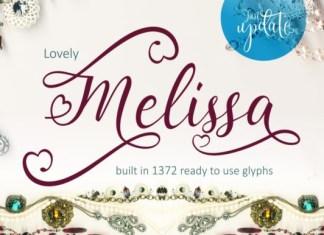 Lovely Melissa Font
