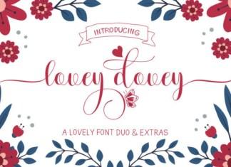 Lovey Dovey Font