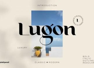 Lugon Font