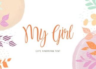 My Girl Font