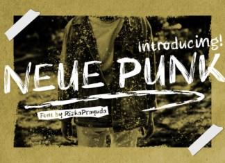 Neue Punk Font