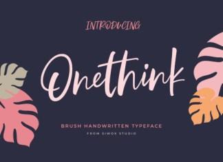 Onethink Font