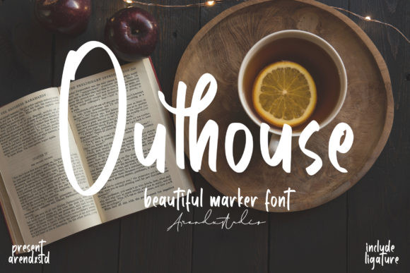 Outhouse Font