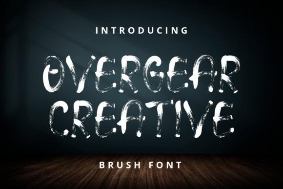 Overgear Creative Font