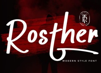 Rosther Font