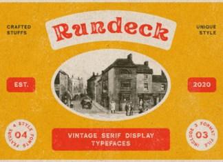 Rundeck Font
