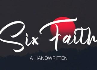 Sixfaith Font