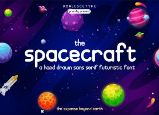 Spacecraft Font