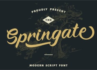 Springate Font