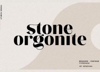 Stone Orgonite Font