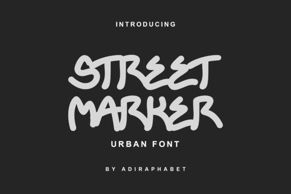 Street Marker Font