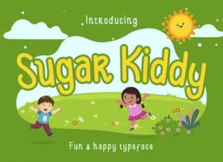 Sugar Kiddy Font