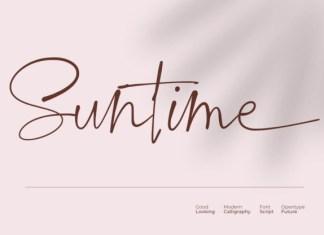 Suntime Font