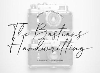 The Bastians Handwritting Font