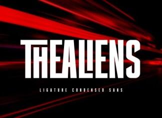 Thealiens Font