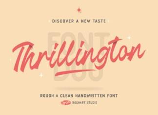 Thrillington Font