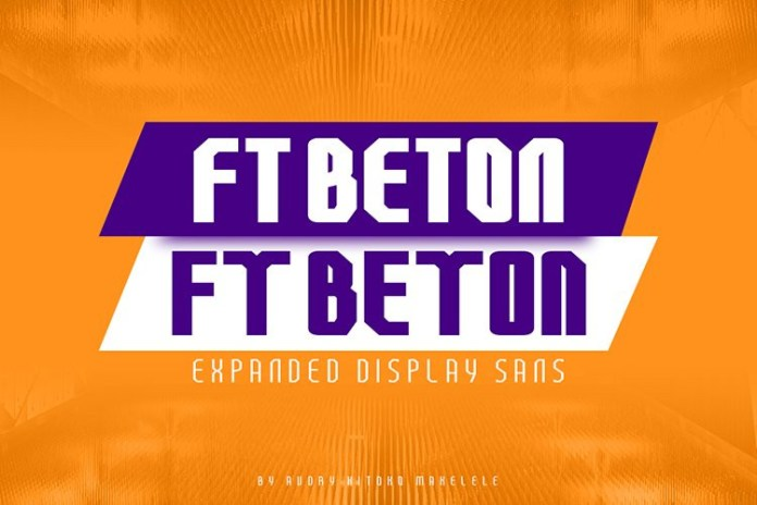FT Beton Expanded Font