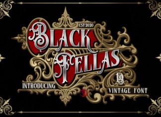Black Fellas Font