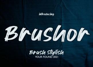 Brushor Font