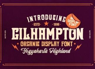 Gilhampton Font