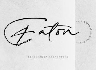 Eaton Font