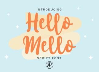 Hello Mello Font